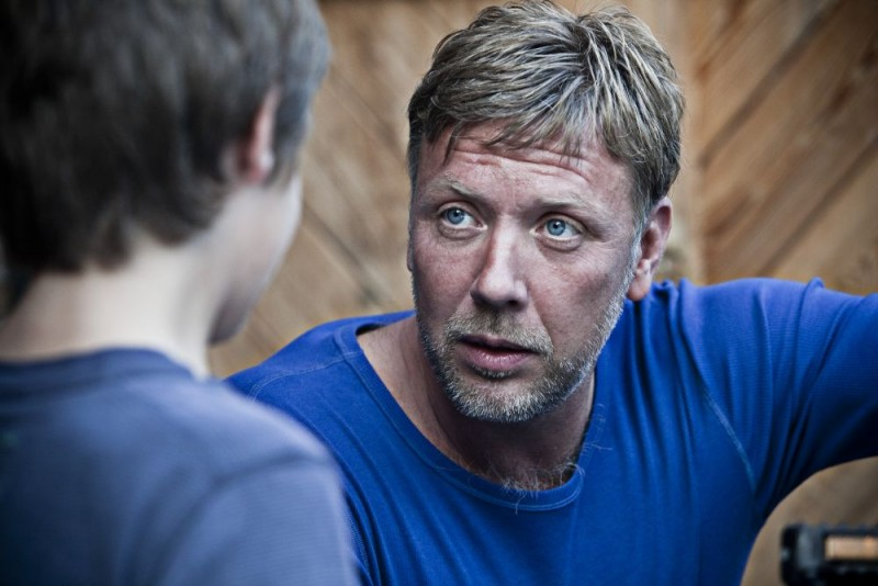 Mikael Persbrandt nel dramma In a Better World (Hævnen)