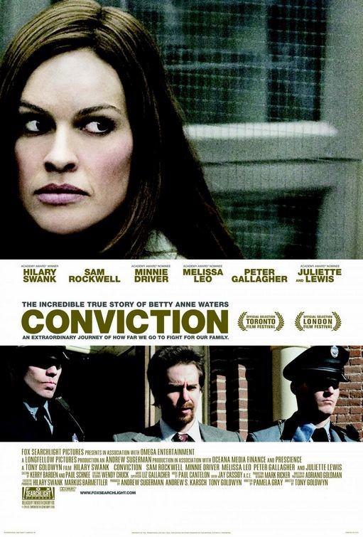 Nuovo poster per Conviction
