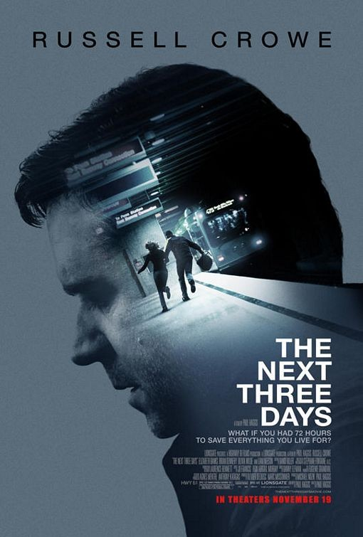 Nuovo poster per il film The Next Three Days