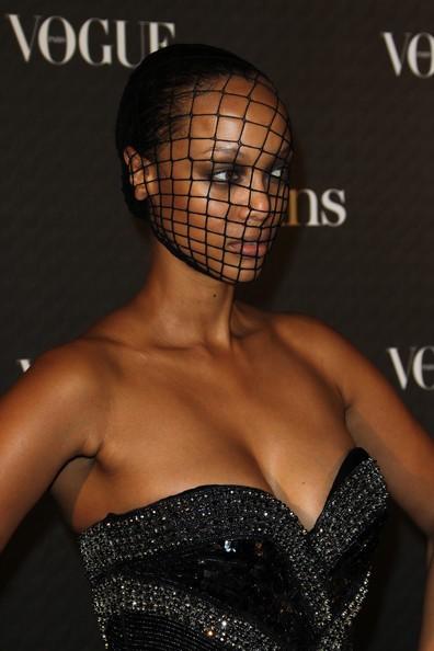 Tyra Banks al party per il 90esimo anniversario di Vogue, nel 2010
