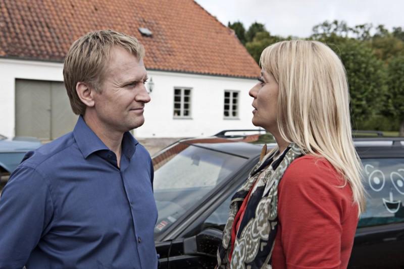 Ulrich Thomsen e Trine Dyrholm in una scena del film In a Better World (Hævnen)