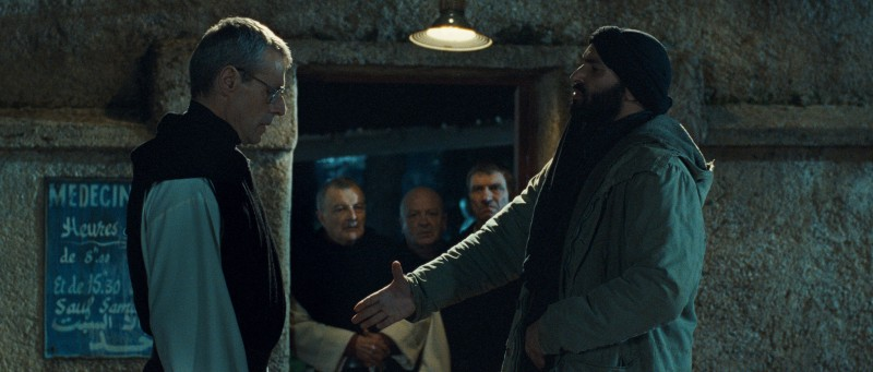 Una sequenza delicata del film Des hommes et des dieux
