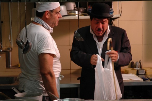 Nicola Pignataro nel film Piripicchio, l'ultima mossa