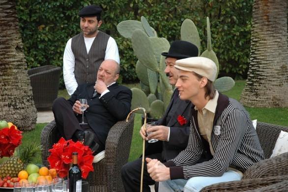Piero Campanale con Nicola Pignataro nel film Piripicchio, l'ultima mossa