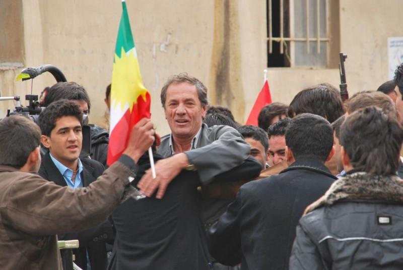 Una drammatica scena de I fiori di Kirkuk