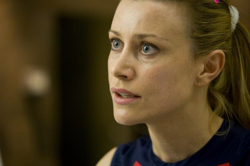 Giorgia Wurth nel film Maschi contro Femmine