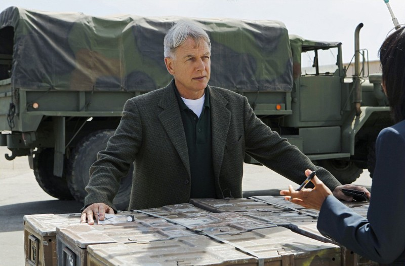 Gibbs (Mark Harmon) nell'episodio Royals and Loyals di NCIS - Unità anticrimine