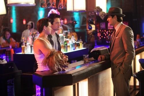 Lee Norris, Stephen Colletti e James Lafferty nell'episodio Not Afraid di One Tree Hill