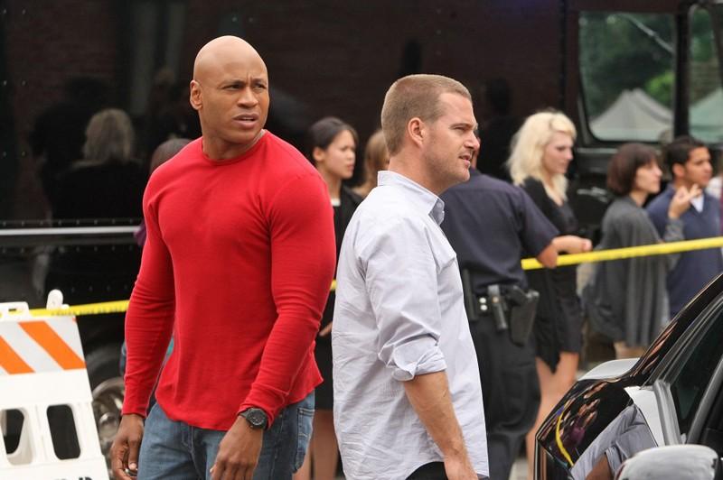 LL Cool J e Chris O'Donnell nell'episodio Standoff di NCIS: Los Angeles