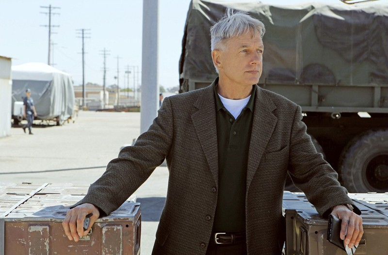 Mark Harmon in una scena dell'episodio Royals and Loyals di NCIS - Unità anticrimine