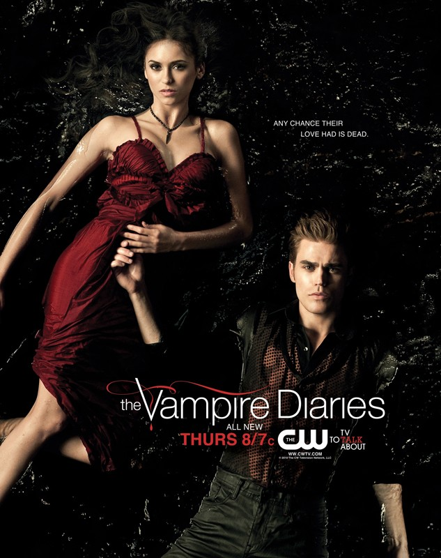 Un nuovo poster della season 2 di The Vampire Diaries con la scritta: 'Any chance their love had is dead'