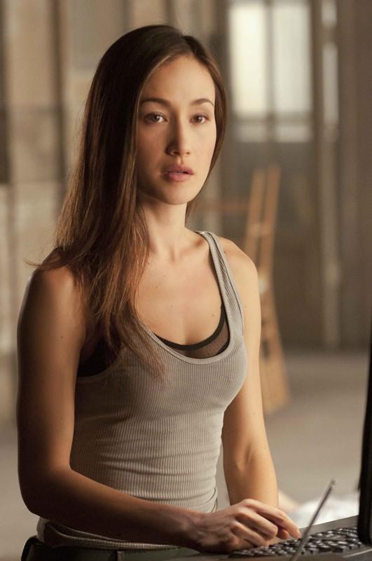 Maggie Q in una sequenza dell'episodio Resistance di Nikita