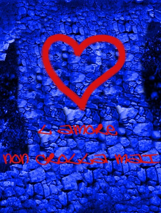 Teaser poster de L\'amore non crolla mai