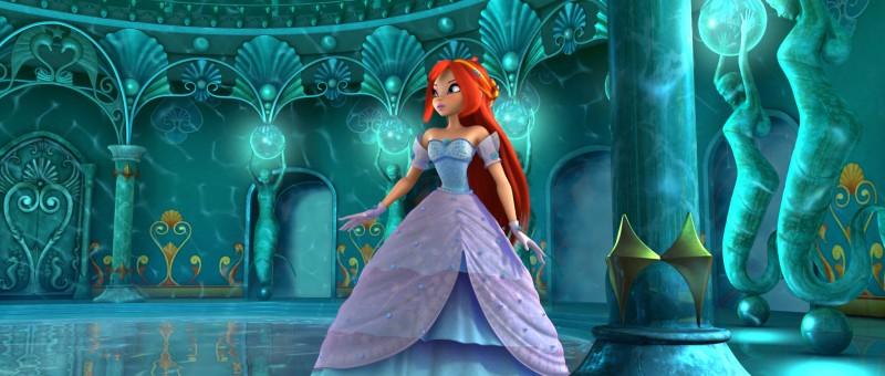 Bloom in un'immagine del film Winx Club 3D