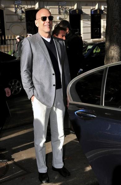 Bruce Willis lascia il Plaza Athenee Hotel