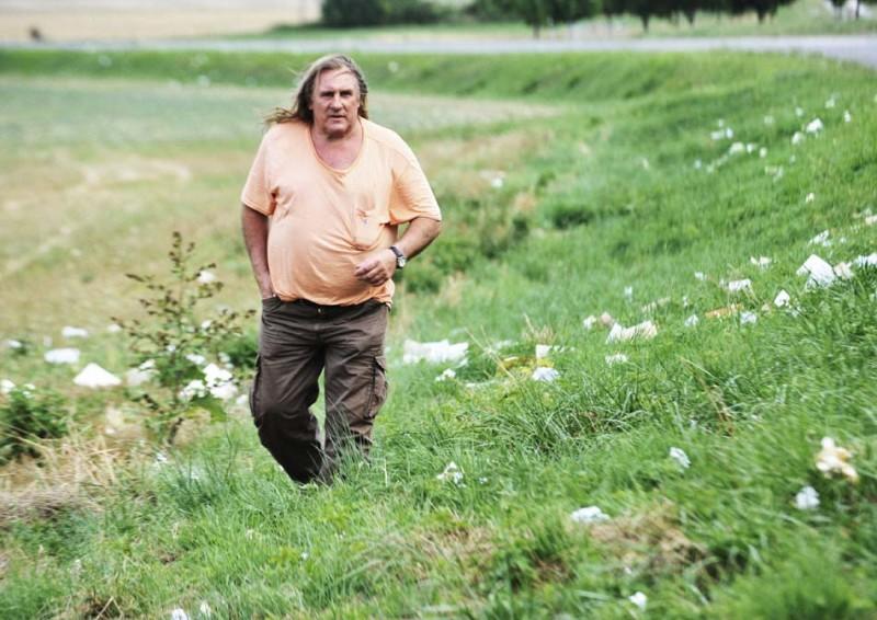 Gérard Depardieu in un'immagine del film Mammuth