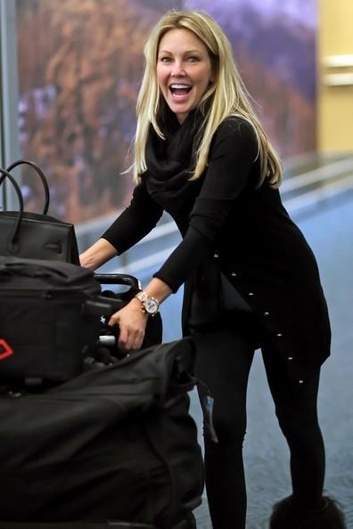 Heather Locklear in aeroporto
