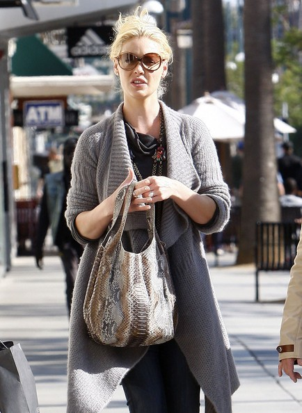 Katherine Heigl e sua madre Nancy a fare shopping in Santa Monica