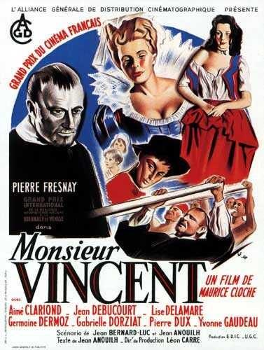 La locandina di Monsieur Vincent