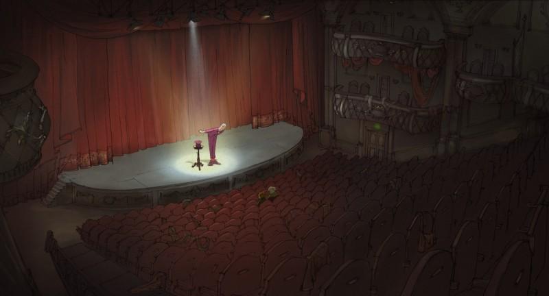 Una scena suggestiva del film The Illusionist
