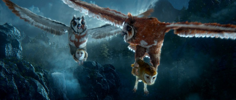I 'soci' Jutt e Jatt nel film Legend of the Guardians