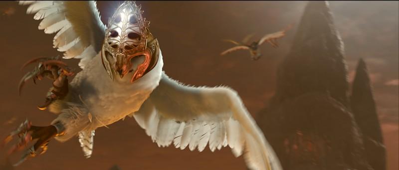 Il guardiano Boron nel film Legend of the Guardians