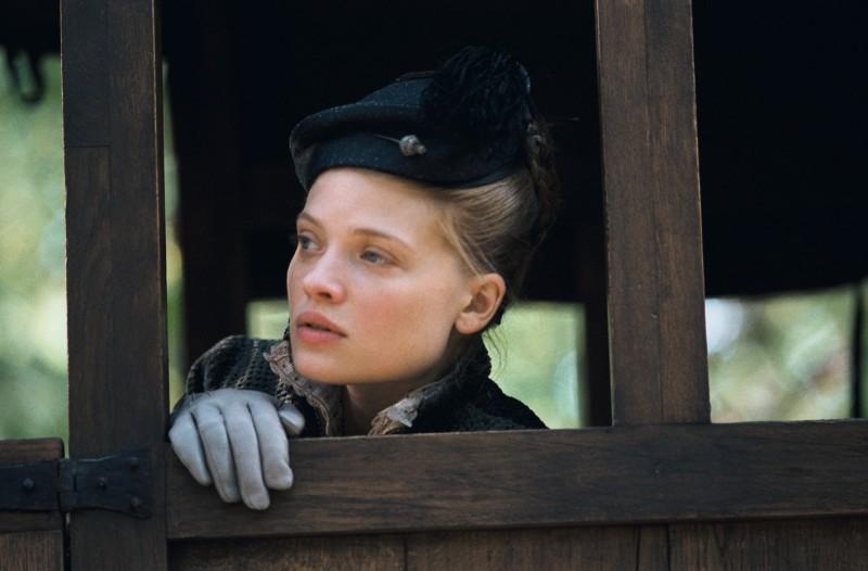 La bella Mélanie Thierry nel film La princesse de Montpensier