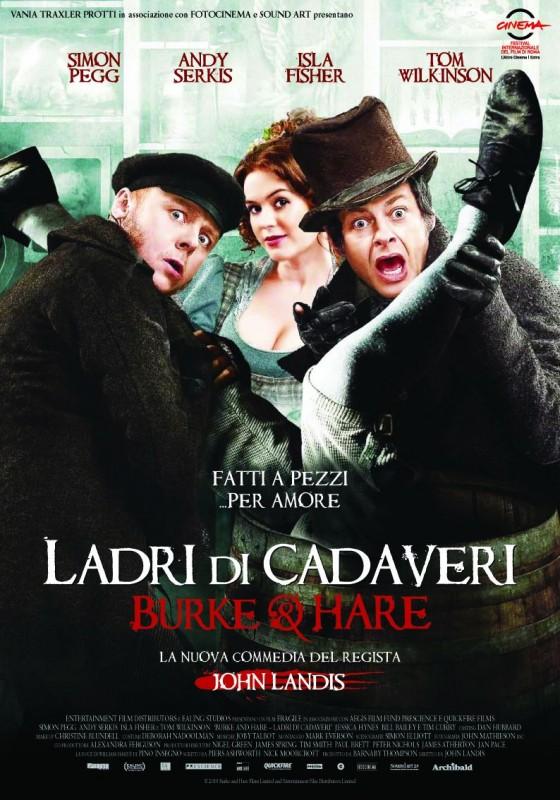La locandina italiana del film Burke and Hare - Ladri di cadavere