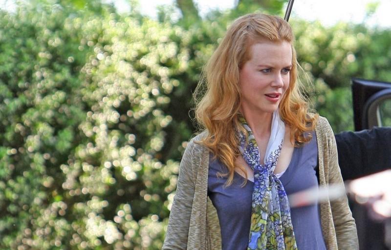 Nicole Kidman sul set del film Rabbit Hole