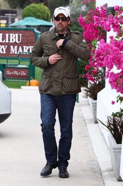 Patrick Dempsey a pranzo al Malibu Country Mart in Malibu