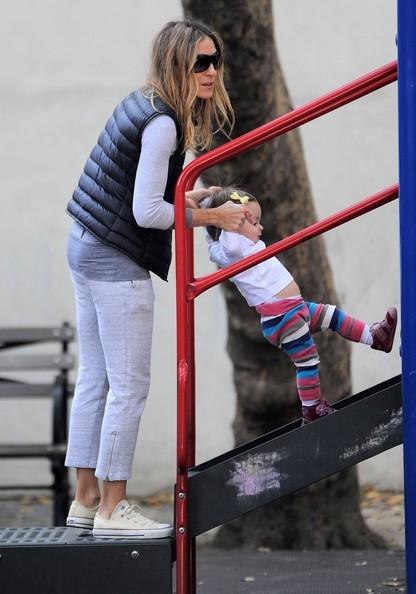 Sarah Jessica Parker porta i figli al parco di New York City