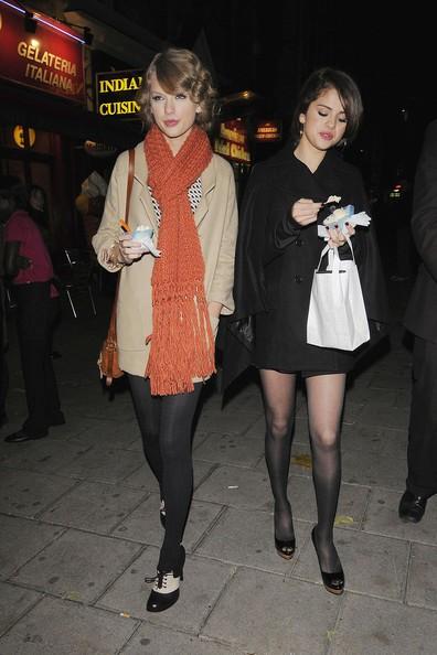 Selena Gomez e Taylor Swift prendono un gelato durante la loro nottata insieme