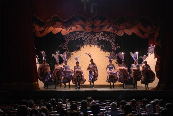 Una scena del balletto dal film Post Mortem
