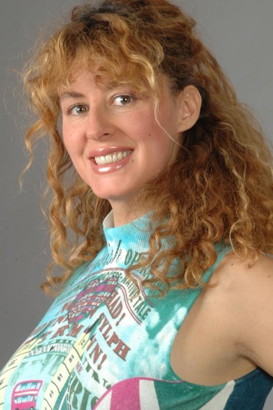 Una sorridente Veronica Bartoli