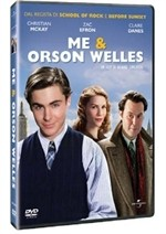 La copertina di Me and Orson Welles (dvd)