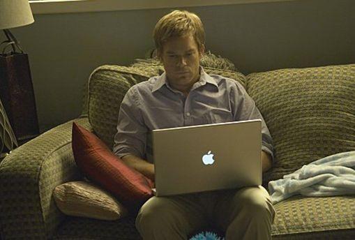 Michael C. Hall in una scena dell'episodio Beauty and the Beast di 'Dexter'