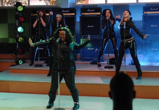 Una coreografia dell'episodio Never Been Kissed di Glee