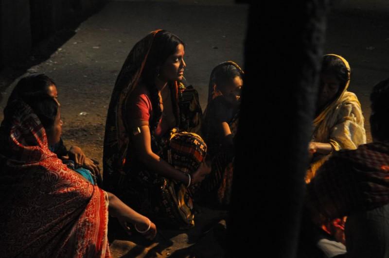 Una sequenza notturna di Gangor (2009) diretto da Italo Spinelli