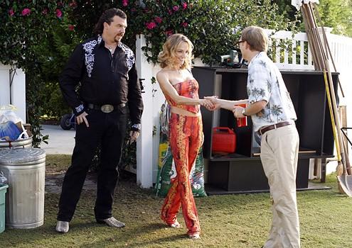 Danny McBride e Sylvia Jefferies nell'episodio Chapter 9 di Eastbound & Down