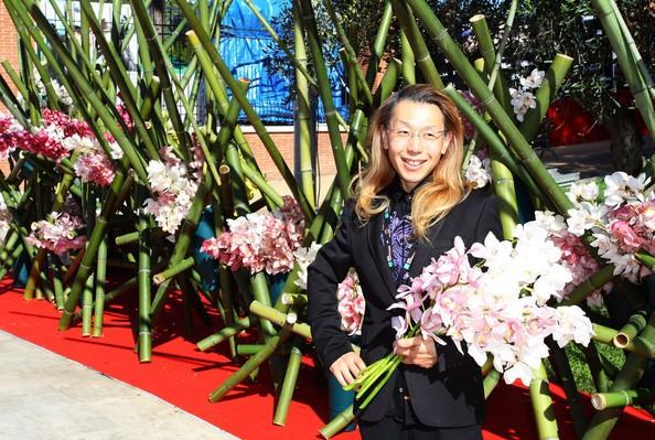 Festival di Roma 2010: l'artista floreale Shogo Kariyazaki si occupa della decorazione del red carpet