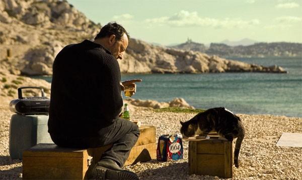 Jean Reno in una sequenza de L'immortale