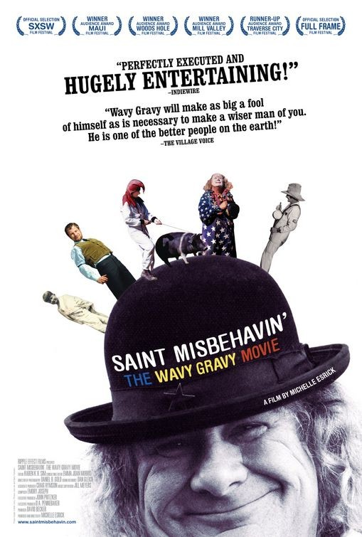 La locandina di Saint Misbehavin': The Wavy Gravy Movie