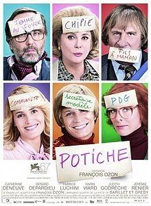 La locandina francese di Potiche