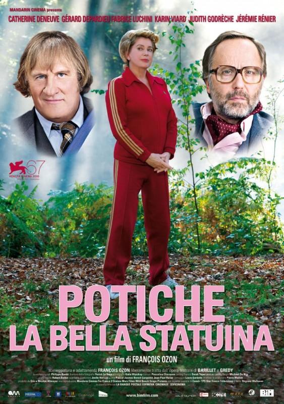 La locandina italiana di Potiche - La bella statuina