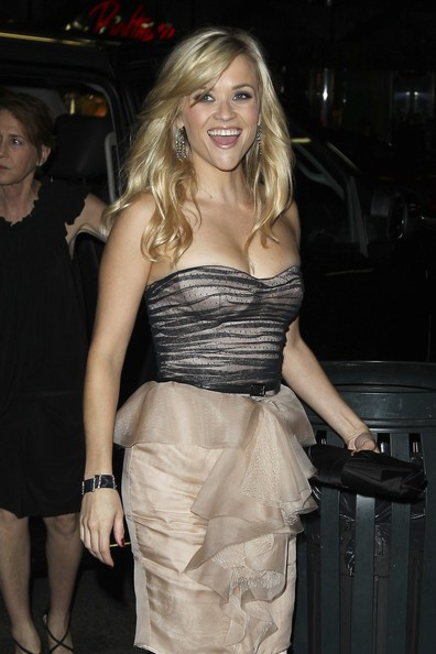 Reese Witherspoon arriva all' 'Avon Foundation Gala' al Cipriani in Manhattan