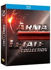 La copertina di Arma letale Collection (blu-ray)
