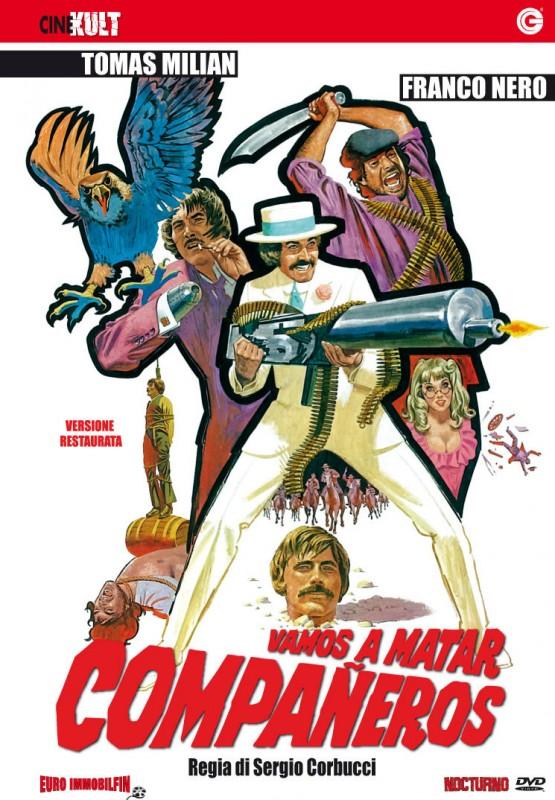 La copertina di Vamos a matar, compañeros (dvd)