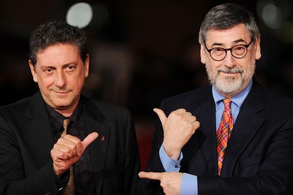 Il regista John Landis accanto a Sergio Castellitto al Festival di Roma 2010