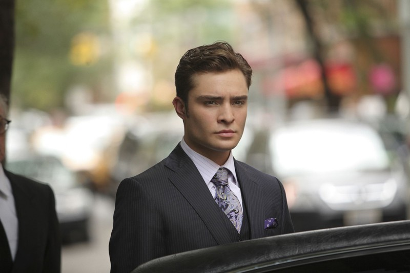 Chuck (Ed Westwick) nell'episodio War at the Roses di Gossip Girl