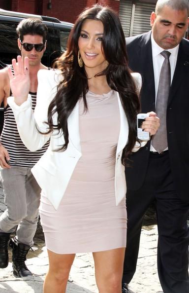 Kim Kardashian fa shopping a New York City